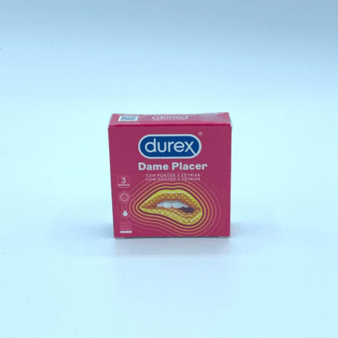 Durex Preservativos 3u Dame Placer